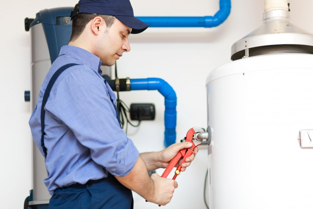 repairing an hot-water heater